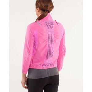 Lululemon Run: Nada Jacket in Pow Pink